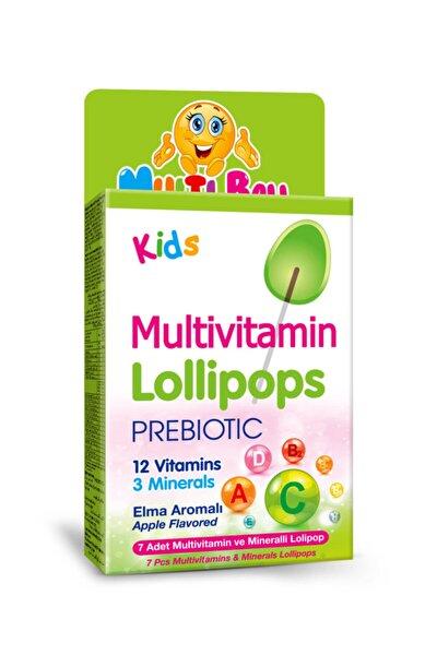 Kids Multivitamin Lollipop + Prebıotıc