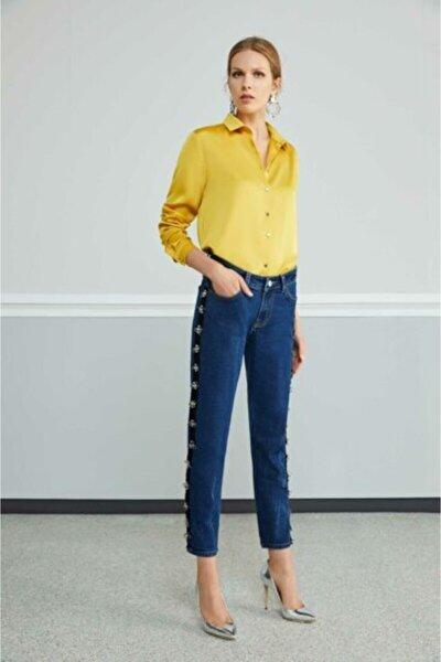 Kadın Safran Gömlek
