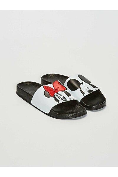 Minnie Mouse Kadın Beyaz J5E Terlik