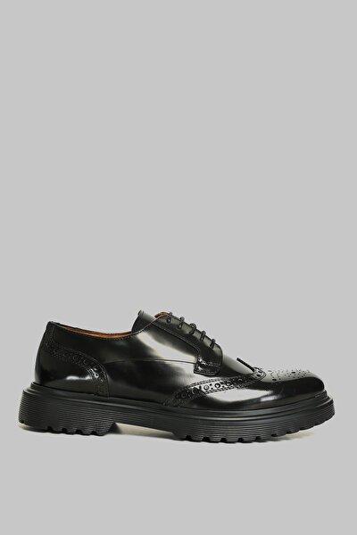 Erkek Siyah Luminosa Deri Casual Ayakkabı