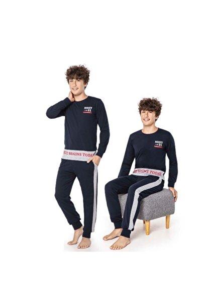Erkek Garson Uzun Kol Pijama Takımı