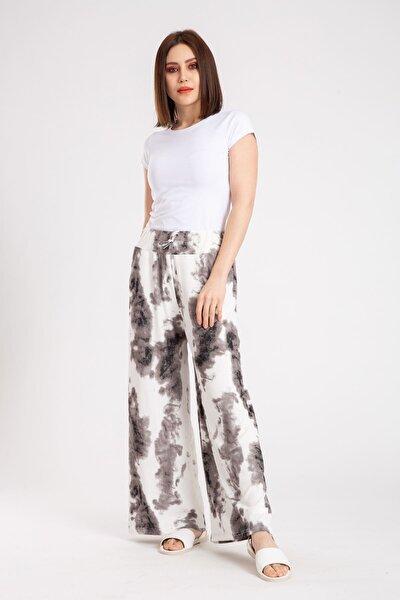 Kadın Bol Paça Pantolon 3032