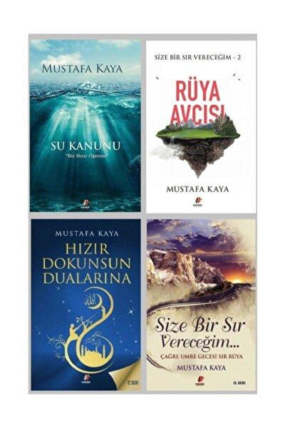 Mustafa Kaya Seti 4 Kitap Hızır Dokunsun  Su Kanunu Size Bir Sır