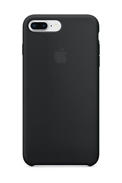 Iphone 7 Plus / 8 Plus Siyah Silikon Kılıf