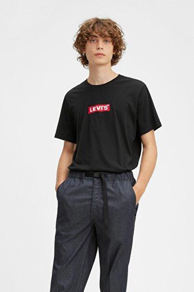 Erkek Siyah Graphic T-Shirt 69978-0051