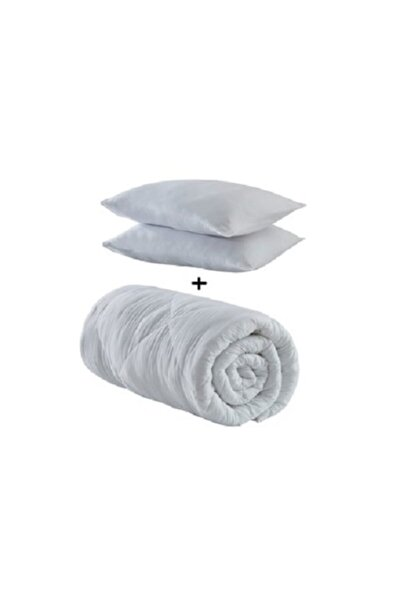 Çift Kişilik Microfiber Yorgan +2 Yastık