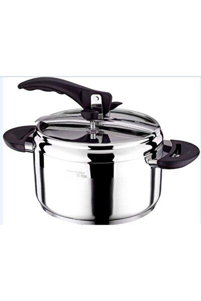 Casa Cooking 3,5 Lt Paslanmaz Çelik Düdüklü Tencere 18 10