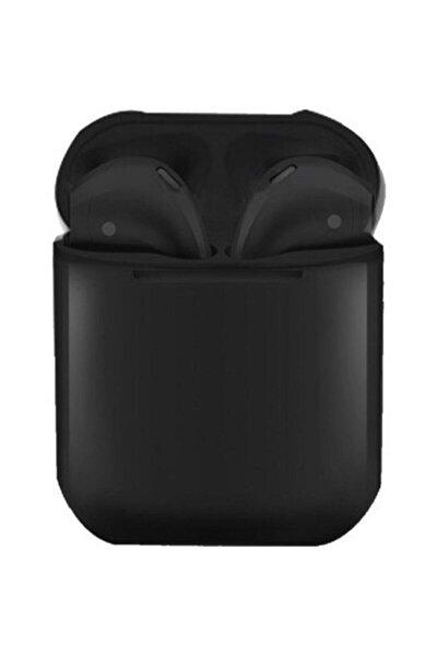 Tws Airpods I12 Siyah Iphone Android Universal Bluetooth Kulaklık Hd Ses Kalitesi I12siyah