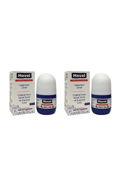 2 Adet Movel Roll On Antiperspirant Ter Önleyici ve Ter Kokusu Yok Edici 50 ml