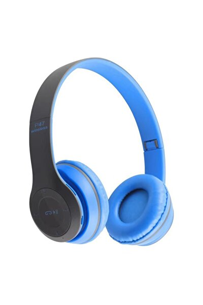 P47 Wireless Kulaklık, P47 Wireless Headphone Radyolu Versiyon, P47 Kulaklık, P47 Bluetooth Kulaklık