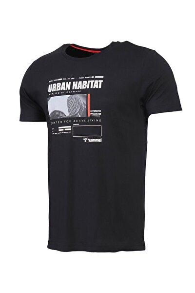 HMLURBAN Siyah Erkek T-Shirt 101085876