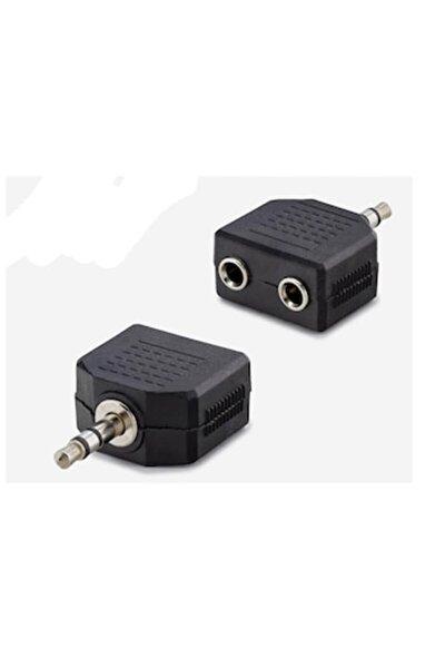 3.5mm Stereo Ses Kulaklık Hoparlör Çoklayıcı - Steryo Çoğaltıcı