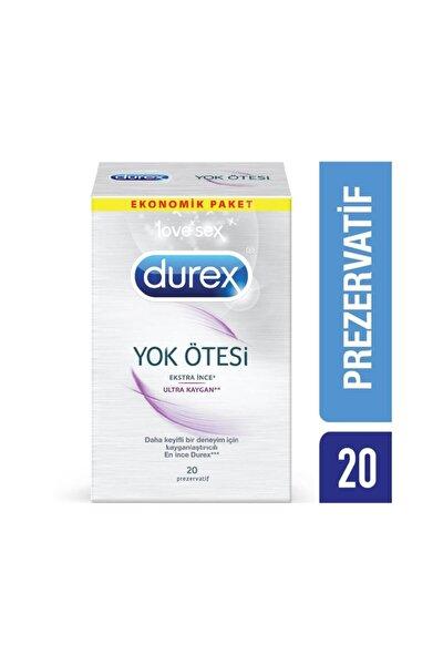 Yok Ötesi Ultra Kaygan Prezervatif 20'li Avantaj Paketi