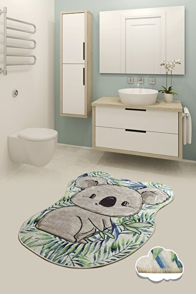 KOALA SHAPE 80x100 cm  Banyo Halısı, Paspas