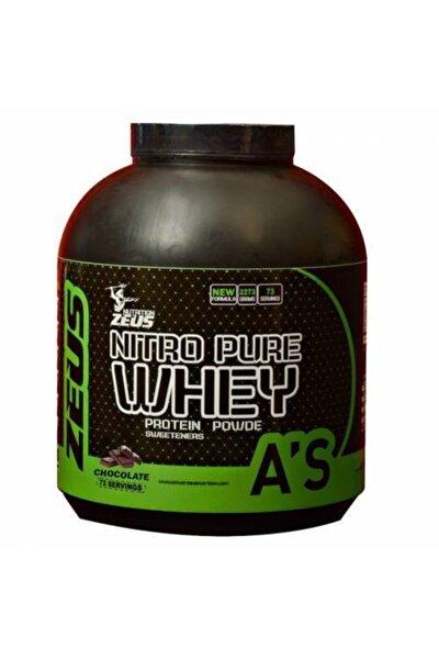 Zeus Nutrition Nitro Pure Whey Protein Tozu 2273 Gr (muz)