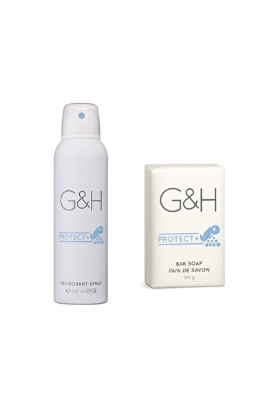 Deodorant Spray + 1 Bar Sabun G&h Protect+