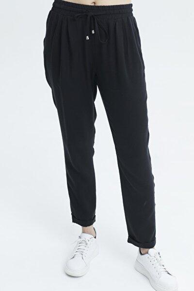Kadın Siyah  Pantolon-19076
