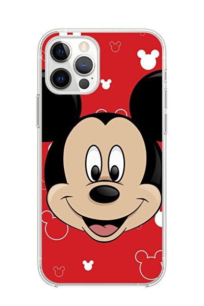 Iphone 12 Pro Max Mickey Mouse Telefon Kılıfı