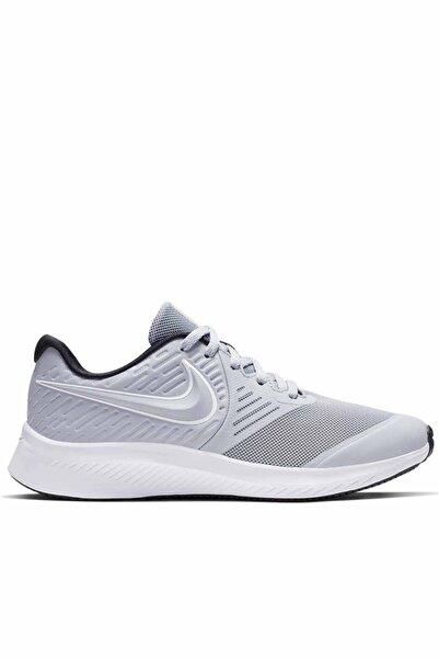 Kadın Beyaz Spor Ayakkabı  Star Runner 2 Gs Aq3542-005