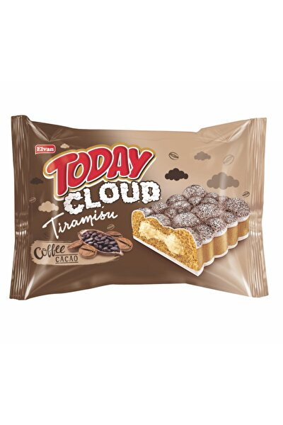 Today Cloud Kek Tiramisulu 50 Gr. 24 Adet (1 Kutu)