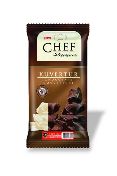 Chef Premium Yüzde 29 Sütlü Mini Kuvertür 200 Gr. (1adet)