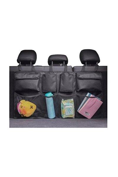 Araç Bagaj Içi Düzenleyici Organizer Bagaj Toparlayıcı Cırt Cırtlı Model