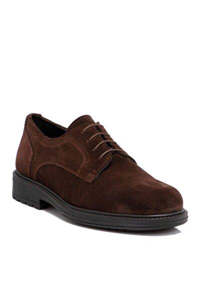 Kahverengi Süet Deri Erkek Ayakkabı 55015b85