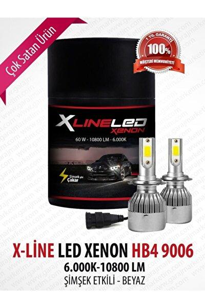 Led Xenon 9006 Hb4 Beyaz 10800 Lümen 6000 Kelvin Şimşek Etkili