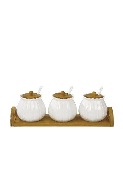 Marghe Porselen 3'lü Baharatlık 10976 Fma02008