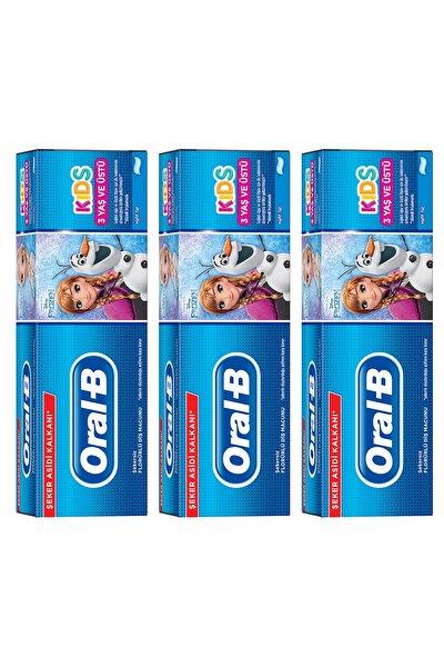 Çocuk Diş Macunu Frozen 225 ml (75*3)