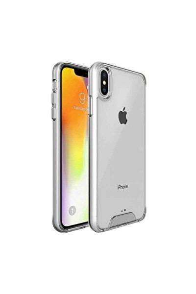Teleplus Iphone Xr Kılıf Gard Ultra Sert Silikon Şeffaf