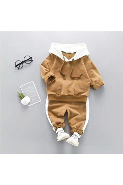 Kapşonlu Bebek Alt Üst Takım