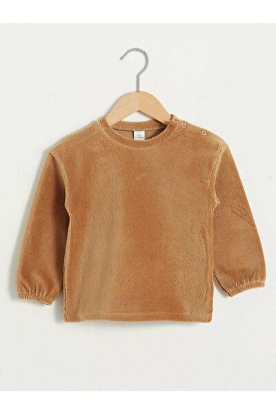 Kız Bebek Kahverengi Sweatshirt