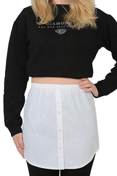 Kadın Gömlek Etek Poplin %100 Pamuk