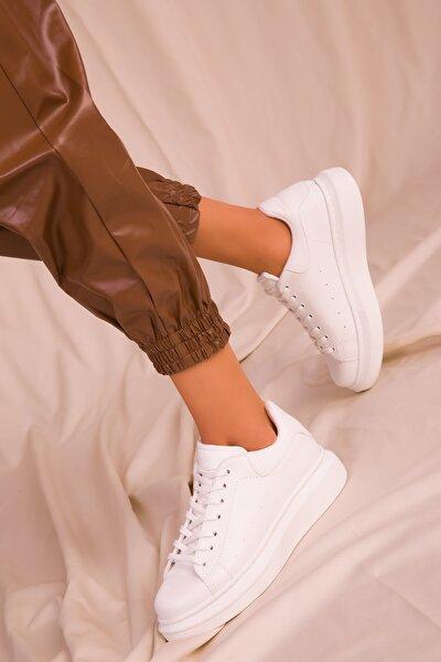 Beyaz Kadın Sneaker 15732