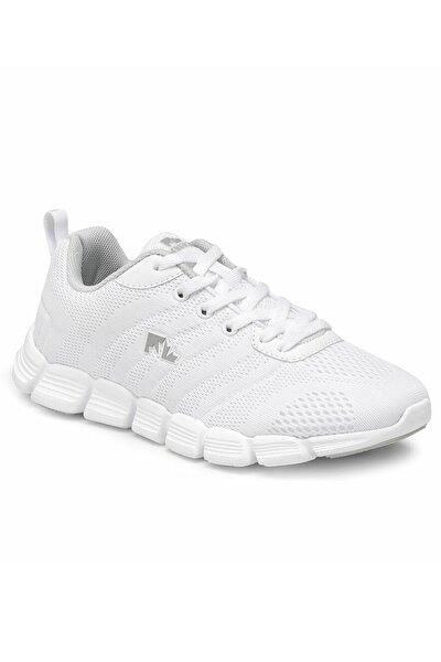 Kadın Beyaz Spor Ayakkabı 8m white 20s040steps