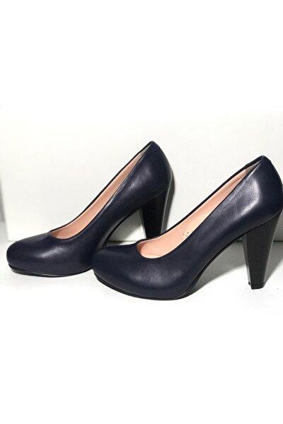 Hakiki Deri Gizli Plartform Topuklu Ayakkabı