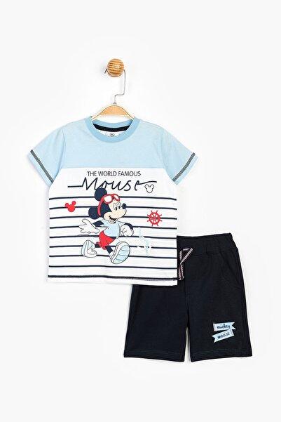 Disney Erkek Çocuk Şort Takım Ful Bebe