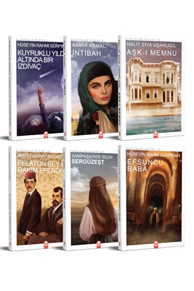 Türk Klasikleri Seti - 1 (6 Kitap)