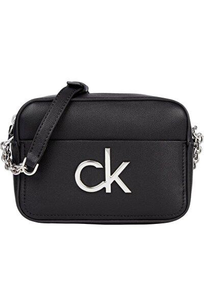Kadın Siyah Re-lock Camera Bag Omuz Çantası