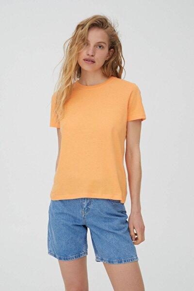 Basic Renkli T-shirt - %100 Ekolojik Olarak Yetiştirilmiş Pamuklu