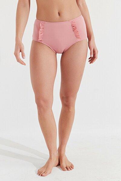 Kadın Mistik Gül Basic Yüksek Bel Bikini Altı