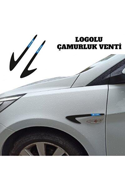 Hyundai Accent Era Çamurluk Venti (sağ - Sol) Parlak Siyah