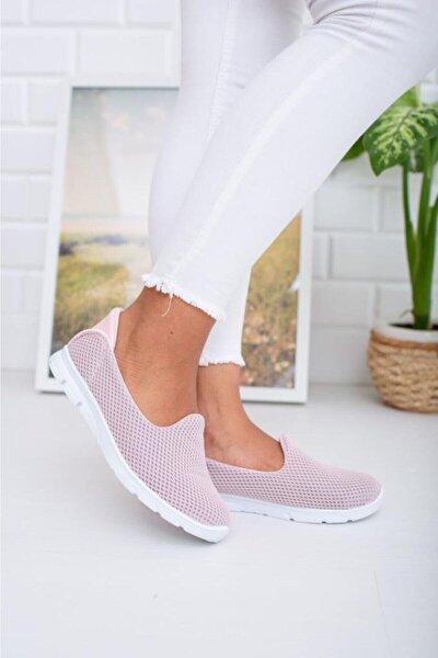 Pudra Memory Foam Ortopedik Günlük Casual Spor Babet Ayakkabı Byndoz01
