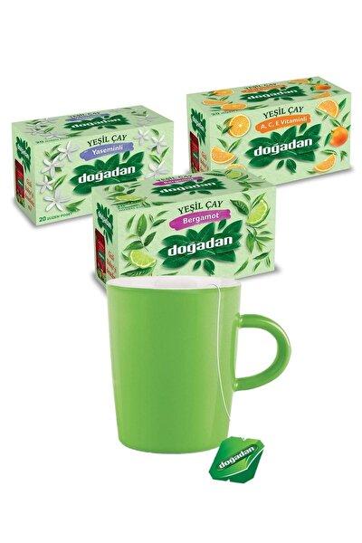 Yeşil Çaylar 3'lü Set
