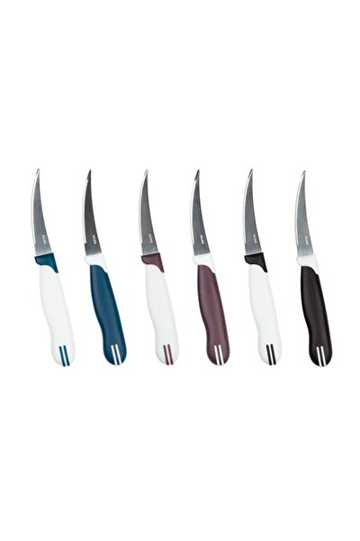 6 Li Paslanmaz Çelik Bıçak