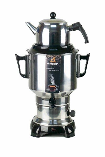 Klasik Semaver 6 lt Çaycı Çaymatik Paslanmaz Çelik