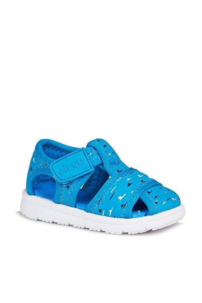 Bumba Erkek Bebe Mavi Sandalet