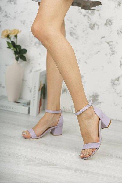 Kadın Lila Günlük Sandalet