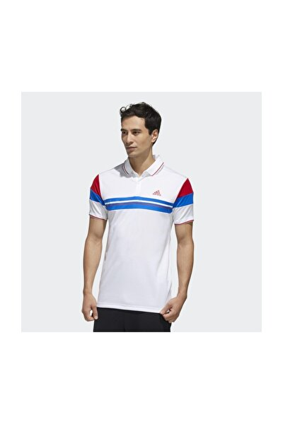 Fk1406 Erkek Beyaz Polo T-Shirt